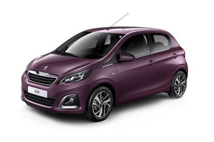Lease Peugeot 108 Car Contract Hire