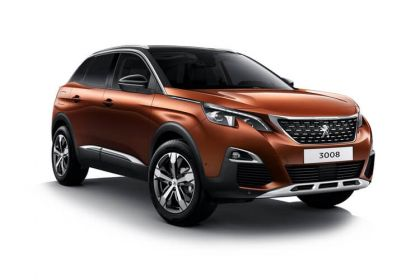 Lease Peugeot 3008 Car Contract Hire