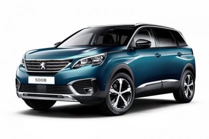 Lease Peugeot 5008 Car Contract Hire