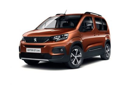 Lease Peugeot Rifter Car Contract Hire
