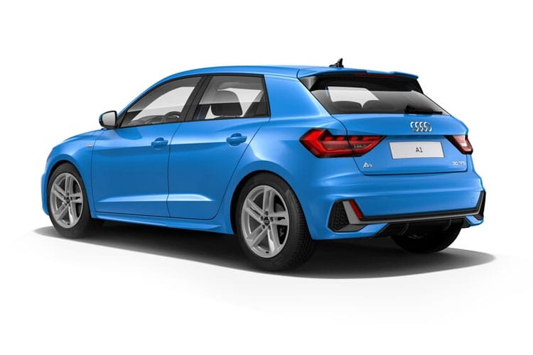 Audi A1 25 Sportback 5Dr 1.0 TFSI 95PS Black Edition 5Dr S Tronic [Start Stop] back view