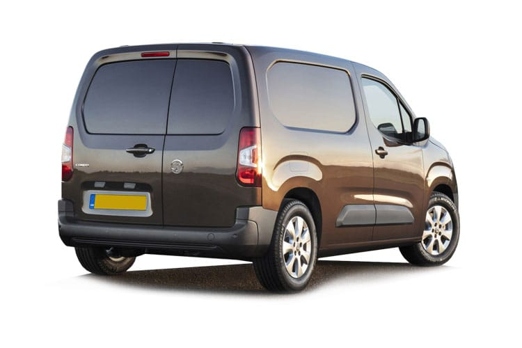Vauxhall Combo Cargo L1 2000 1.5 Turbo D FWD 100PS Sportive Van Manual back view