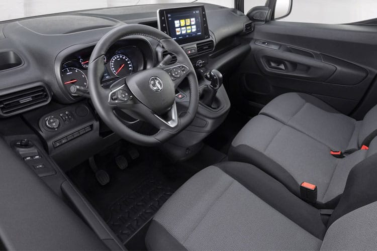 Vauxhall Combo Cargo L1 2000 1.5 Turbo D FWD 100PS Sportive Van Manual inside view