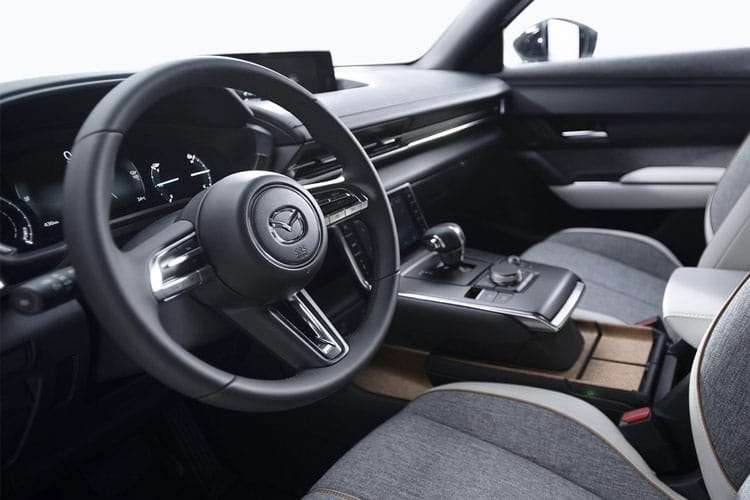 Mazda MX-30 SUV Elec 35.5kWh 107KW 145PS Sport Lux 5Dr Auto inside view