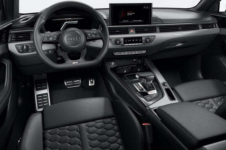Audi A4 35 Avant 5Dr 2.0 TDI 163PS S line 5Dr S Tronic [Start Stop] inside view